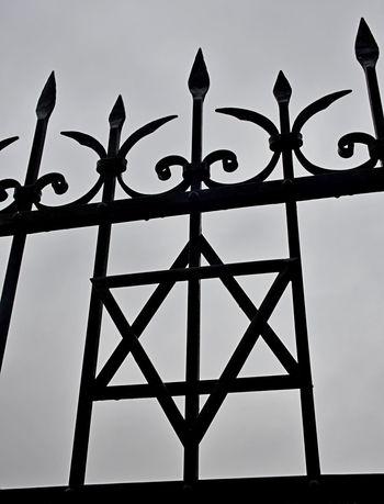David's Star Iron Jewish Star Railing first eyeem photo Forging Metal No People Outdoors Black And White Friday