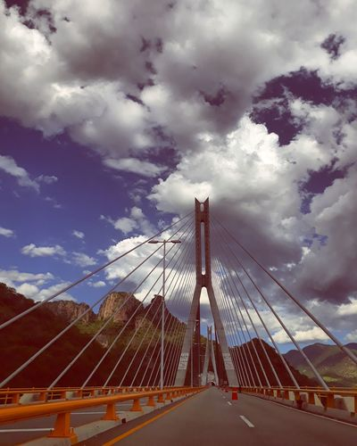 Cloud - Sky Travelphotography Mexico Beauty In Nature Outdoors Bridge