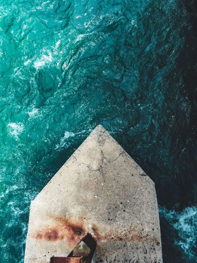 High Angle View Day Nature Water Swimming Pool Pool Real People Unrecognizable Person Leisure Activity Sea One Person Pattern Outdoors Sunlight Blue Lifestyles Close-up Rock Clean Turquoise Colored The Architect - 2018 EyeEm Awards