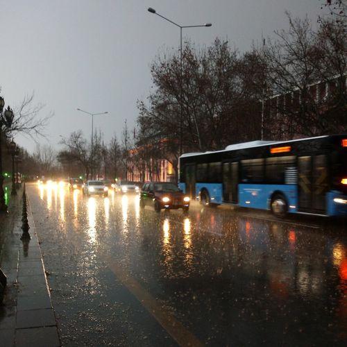 Sıhhiye Ankara Türkiye Hüzün... Road Autumn colors Autumn Autumn🍁🍁🍁 Water Tree City Bare Tree Flood Torrential Rain Extreme Weather Wet Reflection Sky RainDrop Rainy Season Rain Rainfall