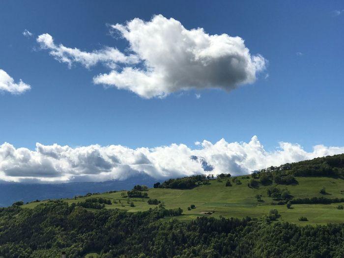 Nature Landscape Sky Cloud - Sky Blue Sky Beauty In Nature No People Outdoors