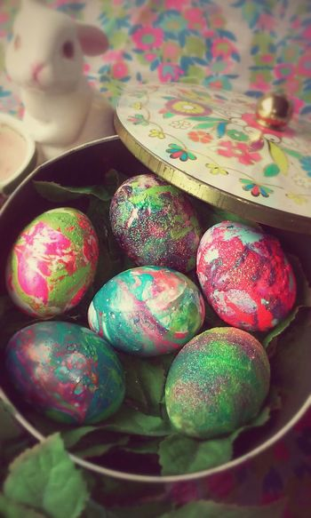 Colorful Colors Art Taking Photos Easter Eggs Bunny  Easter Ready