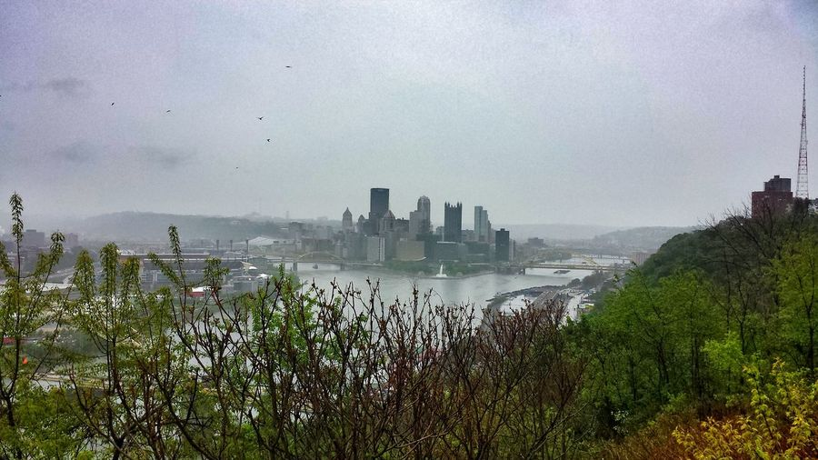 """A view from the West End Overlook, which was in the movie """"Perks of Being a Wallflower."""" Urban Landscape Streamzoofamily Pittsburgh, PA At The Park"""