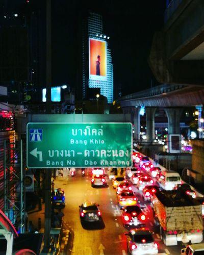 Street Night City City Life
