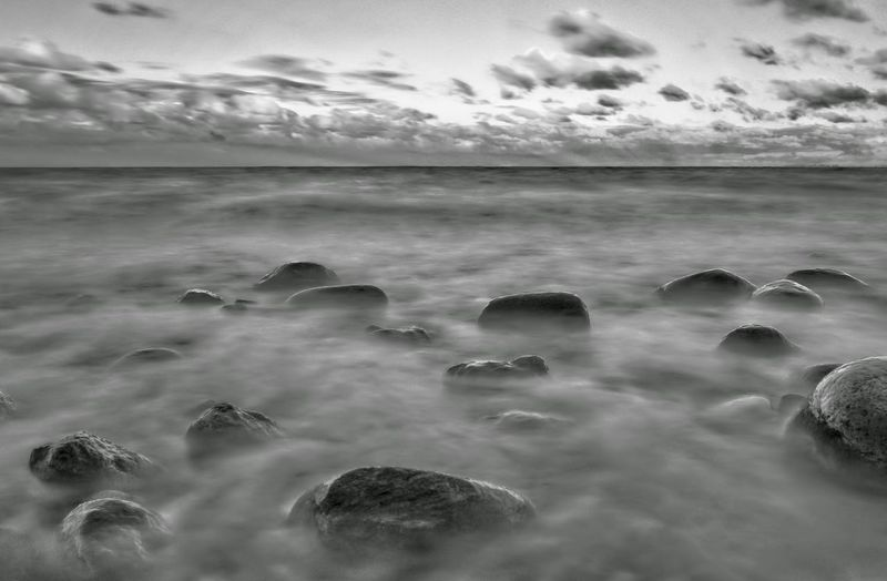 The Great Outdoors With Adobe Fog Foggy Landscape Summertime Sunrise Ships Foggy Day Seascapes Travel Monochrome Monochromeart Nature_collection Kiel Landscape Tranquil SceneNature Seascape MonochromePhotography Landscape_Collection Landscapes Nature Harmony The Great Outdoors - 2016 EyeEm Awards Blackwhite Waves Black And White