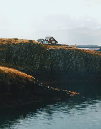 Water Sea Beauty In Nature Built Structure House Scenics Architecture Landscape Mountain Outdoors Tranquility Hill House On The Hill at Snaefellsnes Peninsula Iceland Miles Away The Great Outdoors - 2017 EyeEm Awards
