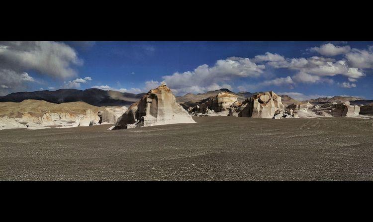 Desert Landscape Rock - Object Outdoors Arid Climate No People Mountain Sand Day Nature Antofagasta Region Panoramic Argentina Landscape