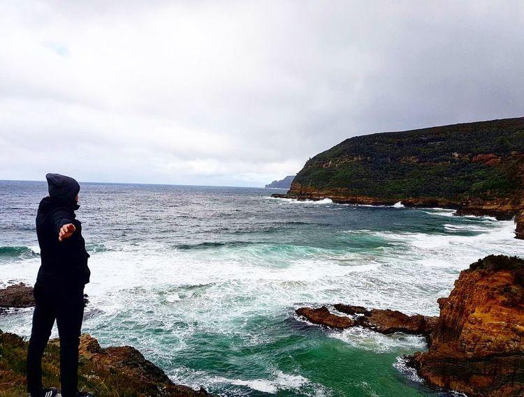A head full of dreams..🇦🇺🌏 Australia Tasmania Trip Travel Destinations Travel Photography Travelling Sea Coast Memories EyeEmNewHere