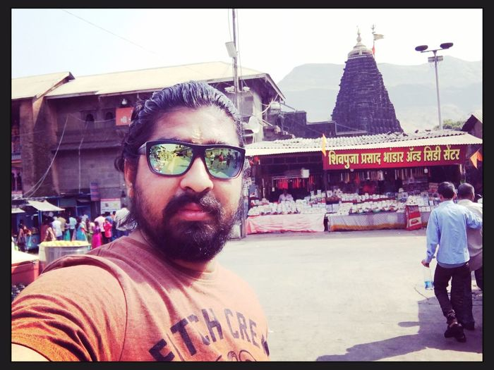 Trimbakeshwar Temple Real People Lifestyles Day Front View Looking At Camera Portrait Outdoors First Eyeem Photo