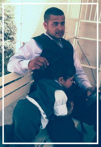 Bro Bladimir and his son...