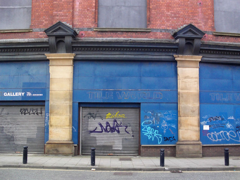 disused building. Abandoned Places Architectural Column Architectural Feature Architecture Blue Building Exterior Built Structure City City Life Commercial Sign Communication Day History Outdoors
