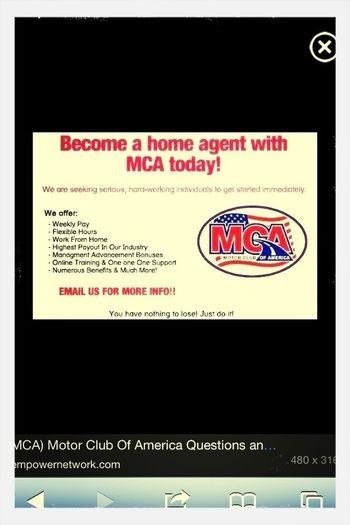 Promoting MCA