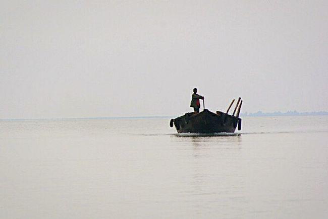 country boat, sundarbans, bangladesh Riverboat Bangladesh Sundarban Daily Life Ocean View Mornings Mangroves
