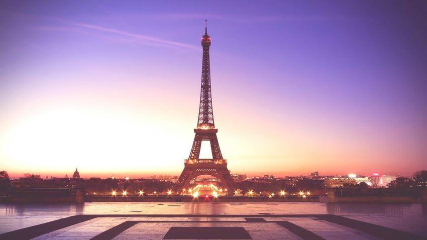 Eiffel Tower Tower Romantic Sky Professionalphotograph City Sky