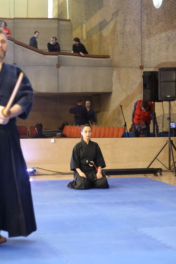 Japanese Kendo tournament EyeEmNewHere Fancing Japanese Culture Japanese Old Fanci Katana Wakizashi Kendo Kendo Practice Laido Japan Japanese Old Fancing