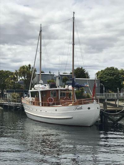 Faith in Fiordland Boat Ship Floating Luxury