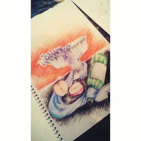 Renkli çizimim 💁😻🙈🙉🙊