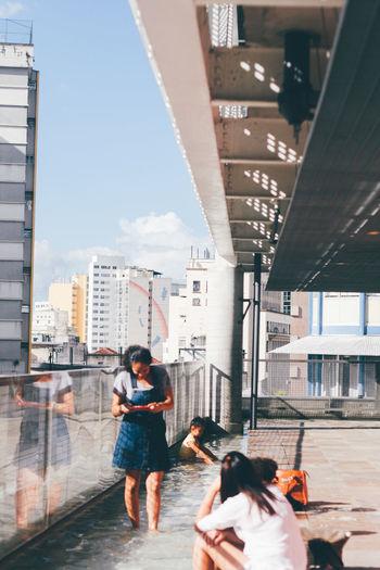 Sesc 24 de Maio 50mm Architecture Sao Paulo - Brazil TheWeekOnEyeEM Architecture Arquitetura Building Built Structure Canon Canonphotography Concrete Portrait Creative Space