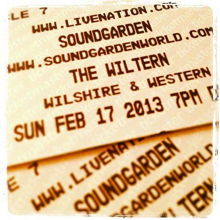 Soundgarden Wiltern