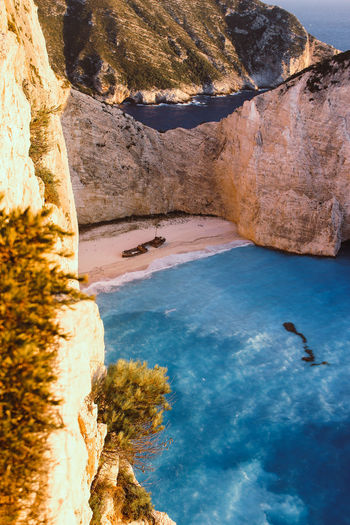 Navagio Beach Canon600D Water Rock Rock - Object Solid Nature Scenics - Nature Beauty In Nature No People Day Sea Tranquility Rock Formation Tranquil Scene Mountain Outdoors Travel Travel Destinations Traveling Canon Canonphotography Canon_photos Canon_official Canonitalia Navagio Beach Navagio Beach Zakynthos The Great Outdoors - 2019 EyeEm Awards The Traveler - 2019 EyeEm Awards