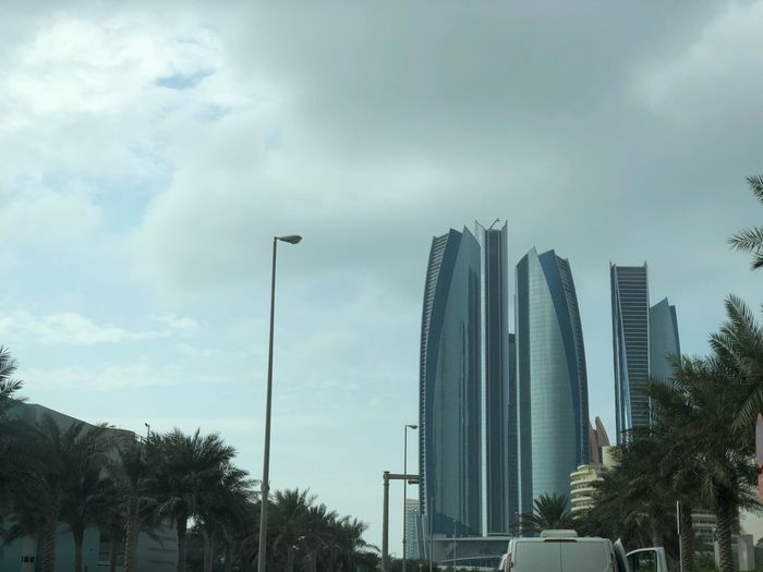Etihad towers Under clouds first eyeem photo ابوظبي الامارات Abudhabilovers Visitabudhabi ETIHADTOWERS Myabudhabi UAE Sky And Clouds Cloud Nature Photography