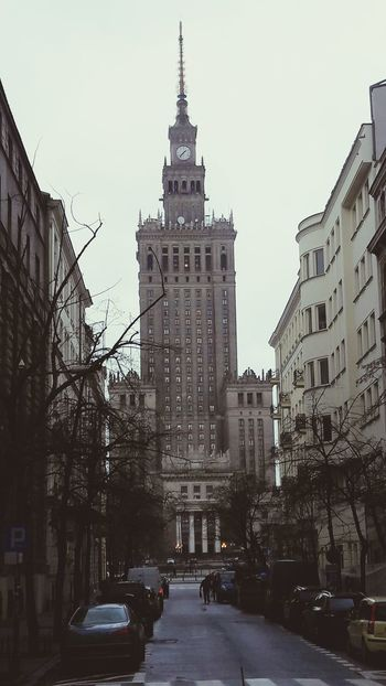 City Architecture Warsaw Poland Varsovie Pologne Russe