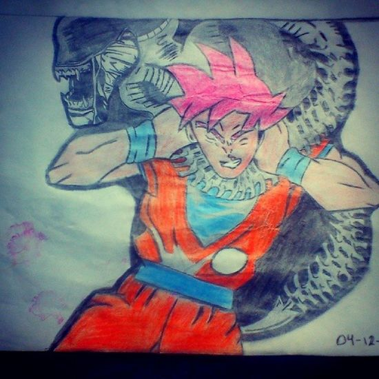 La Mente Detras Del Lapiz Dragon Ball Z Dibujo A Lapiz Drawingtime Art, Drawing, Creativity Drawing ArtWork Mis Dibujos Arte Draw