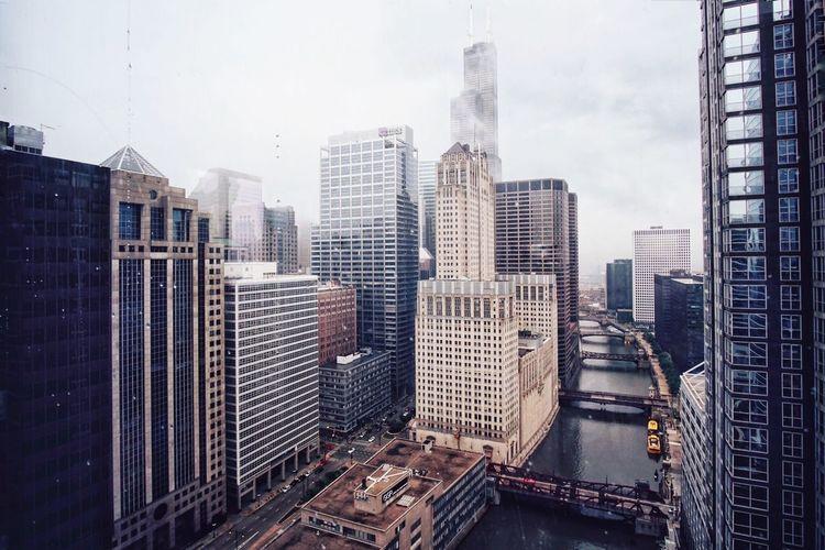 Architecture Urban Skyline Downtown Building Exterior Chicago First Eyeem Photo