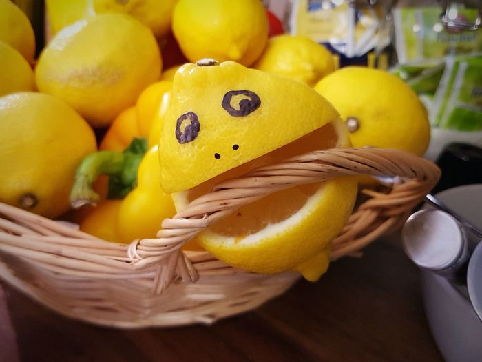 Lemon Smile Fruit Check This Out Bite Face Cheese! Eye4photography  Zitrone