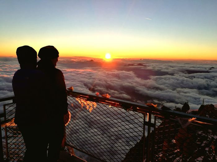 Romantik auf 3138m Höhe Check This Out Enjoying Life Hello World Mountain View Mont Blanc Mont Blanc Massif Romance Sunset