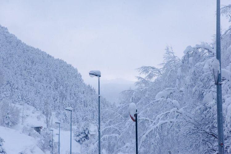 Landscape Principat D'Andorra Winter Wonderland Deepfreeze How's The Weather Today?