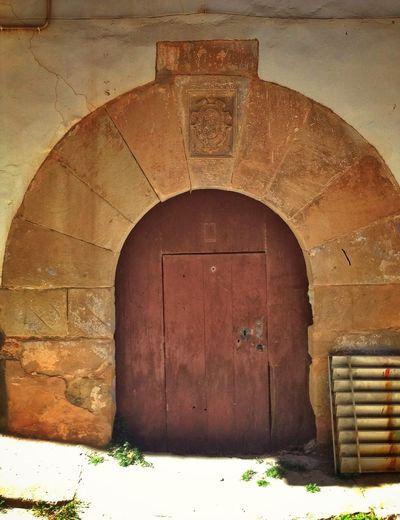 Old Door Alpuente