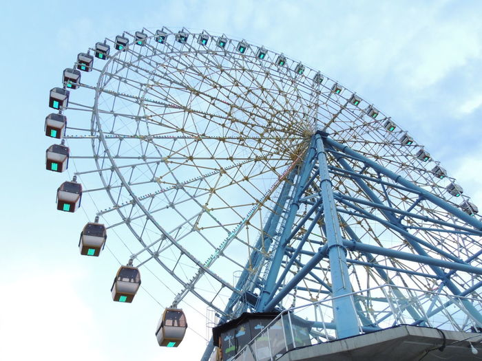 Amusement Park Amusement Park Ride Cloud - Sky Day Ferris Wheel Low Angle View No People Outdoors Sky Tbilisi Tbilisi Loves You