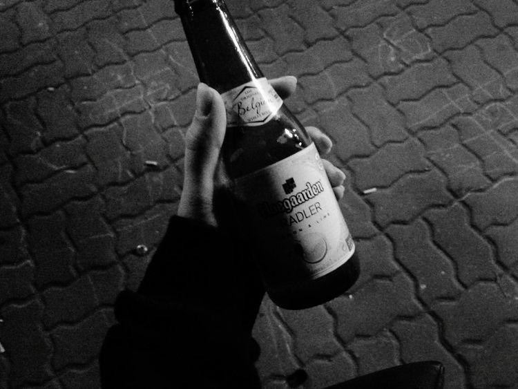 одесса Ночь алкоголь черное белое движ