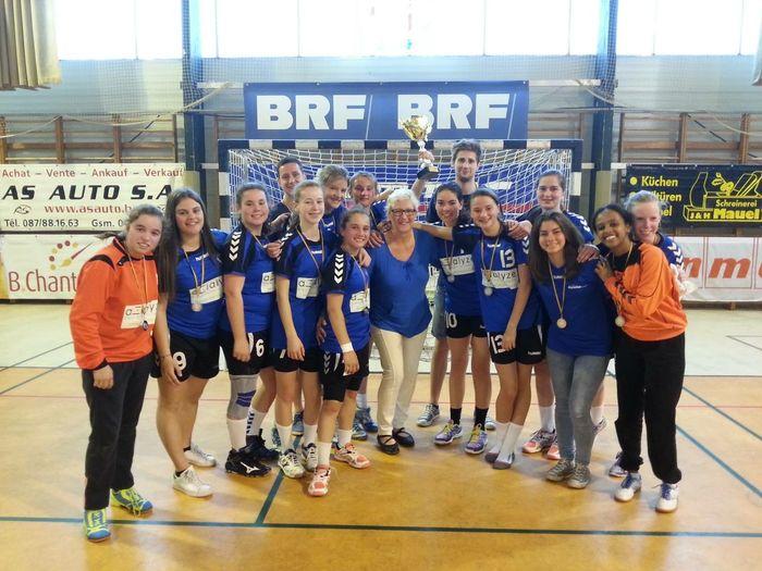 1ère De Wallonie 2ieme De Belgique Team Championnat