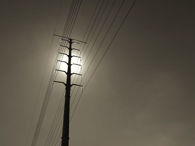 Cable Day Electricity  No People Outdoors Power Line  Power Supply Sky Technology