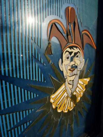 Old Clown Clown Circus Harleyquinn Jester  Retro Design Retro