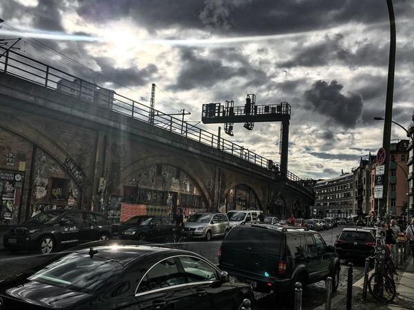 Architecture Bogen Building Exterior City Cloud - Sky Hackescher Markt Mode Of Transport Outdoors Sky Transportation Capture Berlin