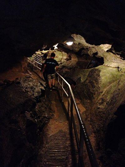 Taking Photos 球泉洞 Limestone Cave