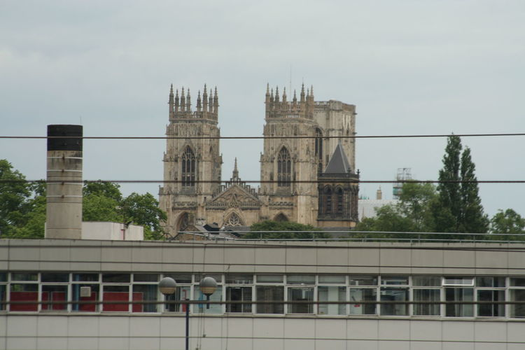 York Minster In City Against Sky
