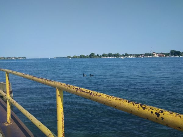 This is ALSO Detroit Detroit Detroit River Detroit Michigan Water Water Clear Sky Sea Harbor Beach Blue Sky Buoy Settlement Pier Waterfront Calm Boat