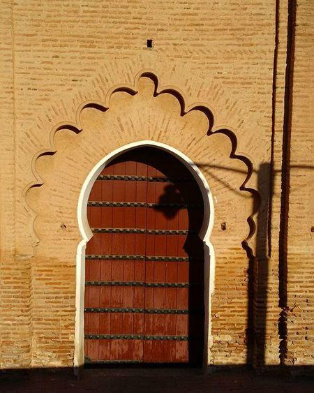 Koutoubia's door. Welcome Marhaba Marrakesh Morocco Berbersoultravels Berbersoul Essaouira Errachidia Tamazight