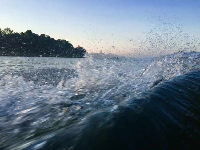 Wave Water Motion Sky Beauty In Nature Sea Nature Splashing Wave