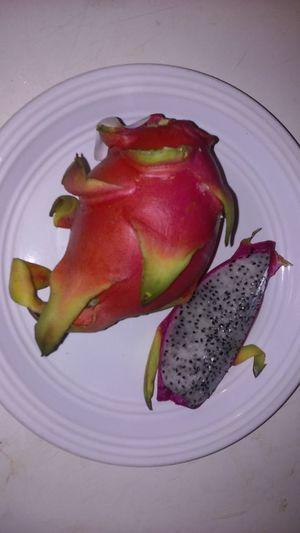 Calcium Dragon Fruit... Food Freshness Fruit Healthy Healthy Food Healthy Lifestyle Natural Nature Organic Pink Pink And White Sweet Vitamins