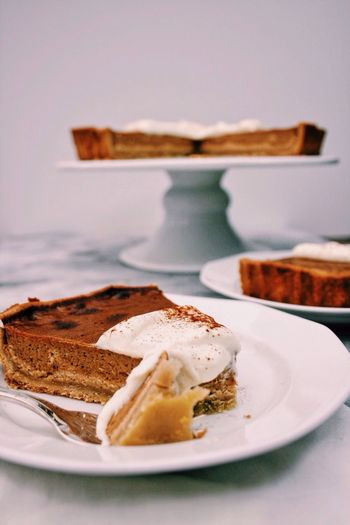 Pumpkin pie Food Ready-to-eat Foodie Foodphotography EyeEm Gallery Sweet Food