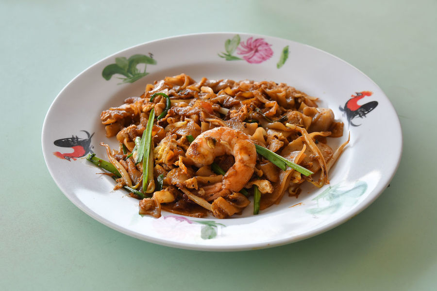 Char Kuay Teow Close-up Day Food Food And Drink Freshness Hawker Food Healthy Eating High Angle View Indoors  No People Noodles Plate Prawn Ready-to-eat Serving Size Food Stories