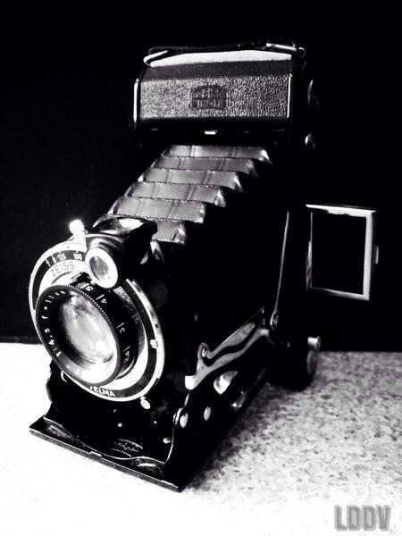 Black & White Vintage Camera Noir Et Blanc LDDV