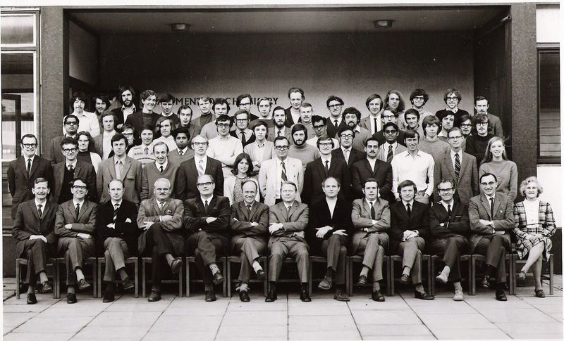 PhD Students 1971 My University University Of Leicester