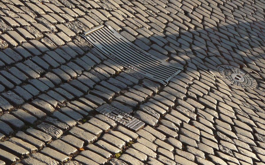 Pavement Granite Iron Street
