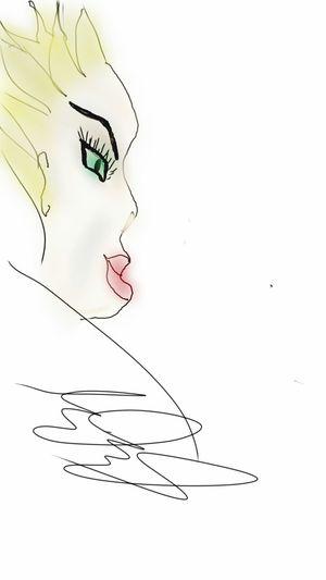 Original drawing freestyle